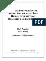 Hanover v. Hanover - 180-Minute Module for Civil/Family Court Judges