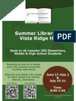 VRHS Summer Library.pdf
