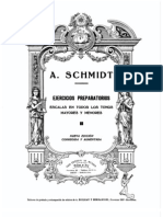 A.schmidt Ejercicios Preparatorios