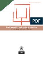la inversion extranjera directa en America Latina  CEPAL 2012
