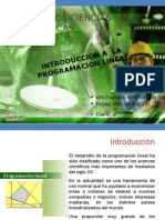 Intro - Programacion Lineal