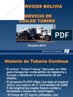 BJ Servis Bolivia-Servicio de Coield Tubinga