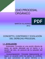 DERECHO PROCESAL ORGÁNICO EL DERECHO PROCESAL
