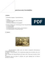 Analiza Companiei Farmaceutice GlaxoSmithKline.doc