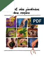 Manuel Des Jardiniers Sans Argent