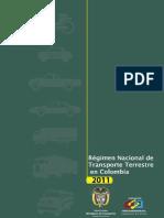 Regimen Juridico de Transporte
