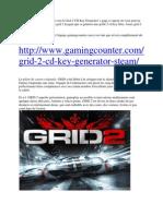 , grid 2 générateur de clé de téléchargement