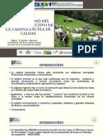 COMPETITIVIDAD DE LA CADENA LÁCTEA DE CALDAS