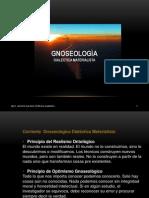 A - Gnoseologia