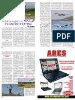 El Despegue de Los UAV en America Latina. autor Jose Higuera