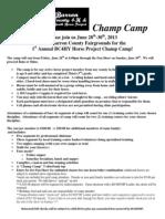CC Info Sheet