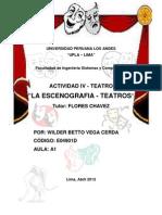 La Escenografía - Teatro