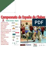Cartel Mujeres Liga Clubes 2009