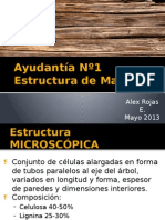 Ayudantía Nº1 Estructura de Maderas