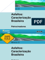 Asfalto Caracteristica Brasileira