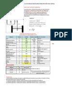 Libreta de Cálculo Selección motor auto eléctrico o de combustión