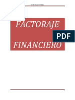 FACTORAJE FINANCIERO