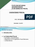 Caducidad Fiscal