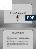 Citations & Annotations (Project Two)
