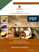 Chuquicamata Metodo Block Caving