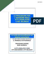3 2012def_ Procedimenti Adozione Atti
