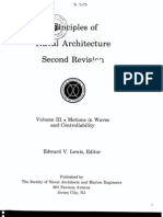 Principles of Naval Architecture Vol III - Motions in Waves and Controllability