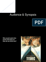 Audience & Synopsis (Project Three)