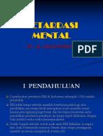 Mental Retardasi