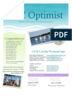 WC Optimist Newsletter
