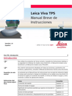 Manual Breve Leica Viva TPS