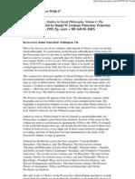 Bryn Mawr Classical Review 95.06.17_VlastosStudiesinPresocartcs.vol.1_Review 1995