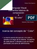 El Lenguaje Visual. El Color.