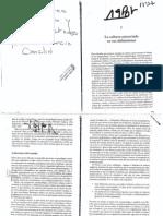 4972-Garcia Canclini Nestor - Diferentes Desiguales y Desconectados Cap I y VII