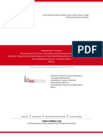 Social Development Policy, Expenditures and Electoral Incentives in Mexico