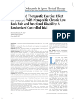 Pilates-Based Therapeutic Exercise