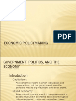 Economic Policy Making