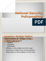 National Security Policy Making