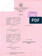 COALITION OF SENIOR CITIZENS IN THE PHILIPPINES INC. V. COMELEC, G.R. Nos. 206844-45, 206982