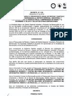 Decreto_1150_Liquidacion_Presupuesto_2013-2