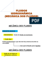 Mecânica dos Fluidos - Parte 1 (Hidrodinâmica)