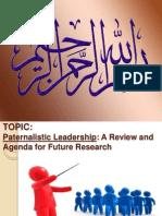 Paternalistic Leadership Presentation