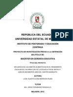 TESIS INFLUENCIA DE LOS HÁBITOS ALIMENTICIOS EN EL RENDIMIENTO ESCOLAR (1)