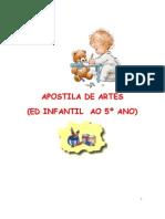 Apostila de Artes Da Ed Infantil Ao 5 Ano - Julia Rocha Camargo
