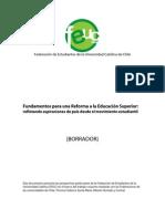 FEUC Fundamentos Reforma BORRADOR