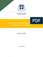 Diccionario Competencias Genéricas.UFRO 2
