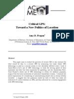 GPS & Politics Location
