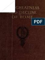 The Greatness and Decline of Rome, VOL 2 Guglielmo Ferrero, Transl. Sir A. E. Zimmern (1908)