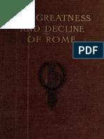 The Greatness and Decline of Rome, VOL 3 - Guglielmo Ferrero, Transl H. J. Chaytor