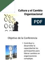 Cultura y El Cambio Organizacional