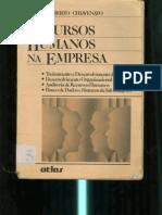 Recursos Humanos nas organizações - Idalberto Chiavenato